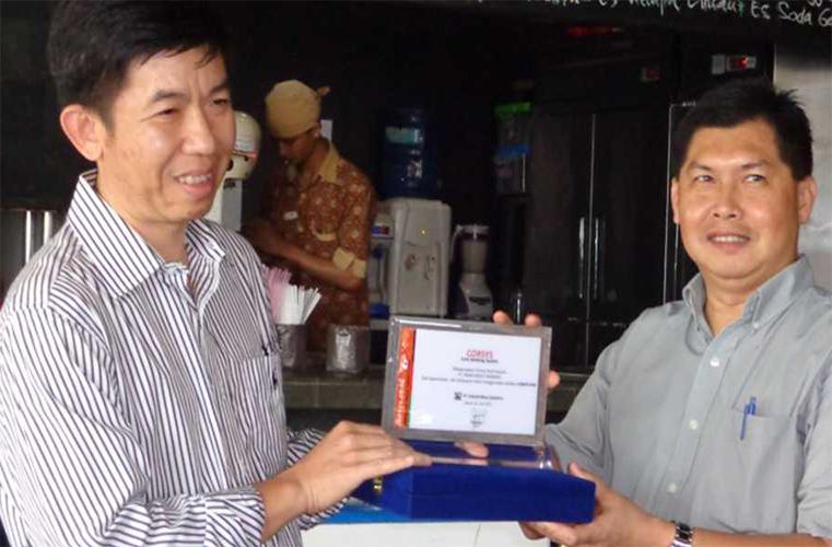 PT. BPR Prima Kredit Mandiri <br>Signing Agreement CorSys-BPR <br>(2014)